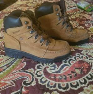 Wolverine lace up boots